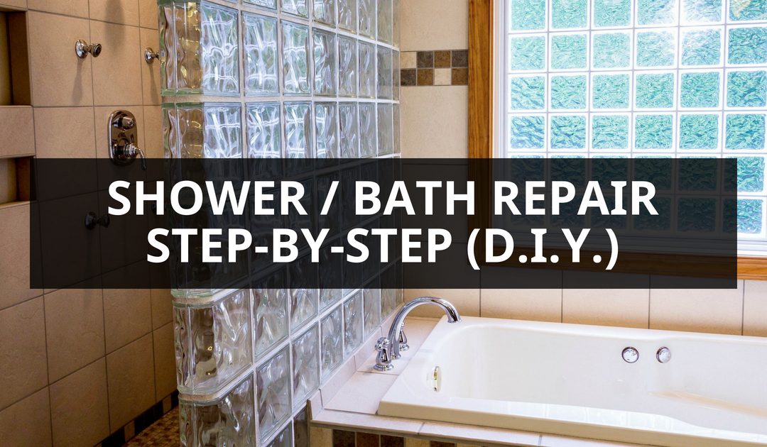 Shower bath repair guide step-by-step diy